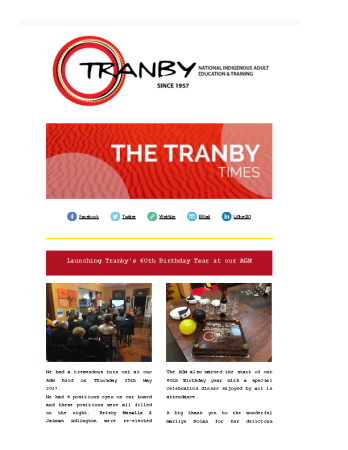 The Tranby Times June 2017