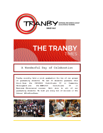 Tranby Times August 2016