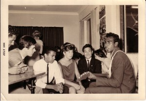 Farewell party for Charles French, July 1964