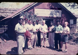 Alf Clint, Kylie Tennant and Directors of the Lockhart River Cooperative, c.1959