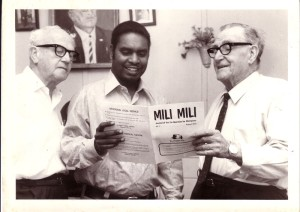 Mili Mili publication launch, August 1972